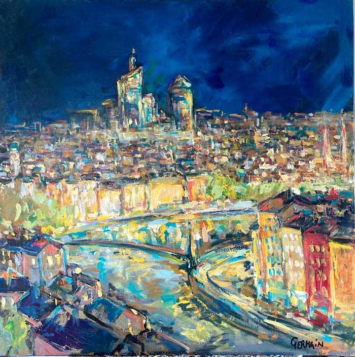Méandre de la Saône en lumière