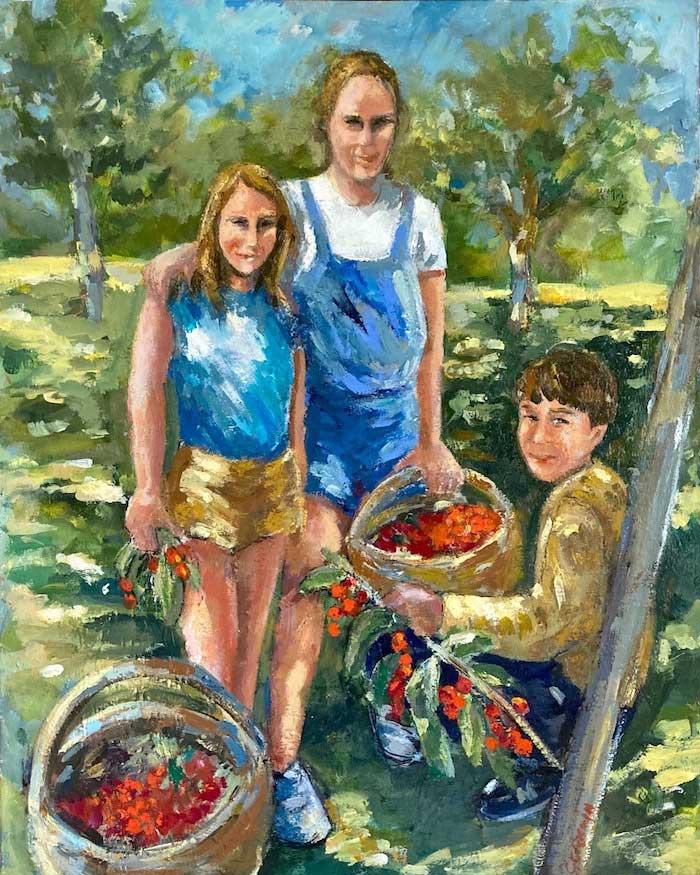Cueilleurs de cerises