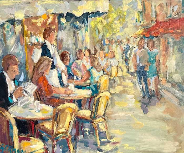 Lecture en terrasse